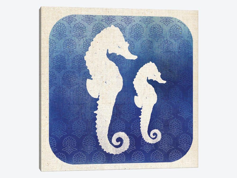 Watermark Seahorse by Studio Mousseau 1-piece Canvas Art Print
