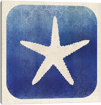 Watermark Starfish Canvas Art Print