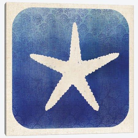 Watermark Starfish Canvas Print #WAC5579} by Studio Mousseau Canvas Artwork