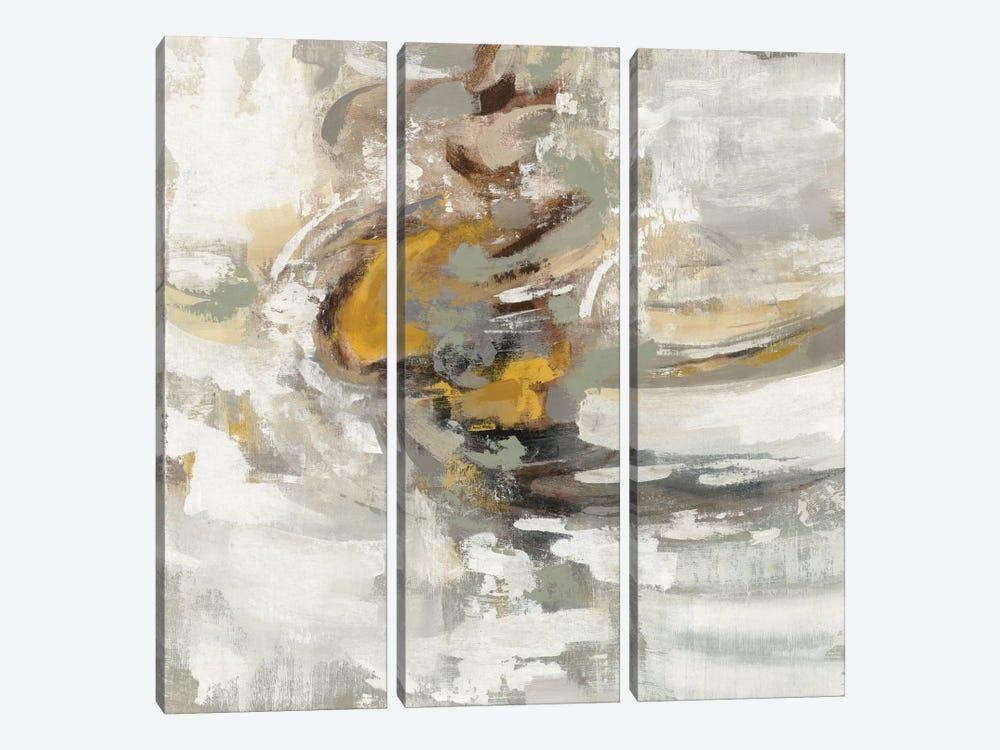 Amber Ring by Silvia Vassileva 3-piece Canvas Art Print