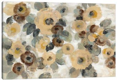 Neutral Floral Beige I Canvas Print #WAC5584
