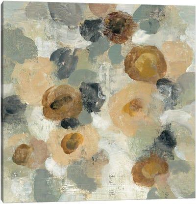 Neutral Floral Beige III Canvas Print #WAC5586
