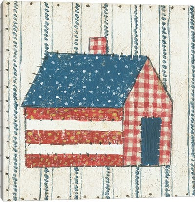 Americana Quilt III Canvas Art Print