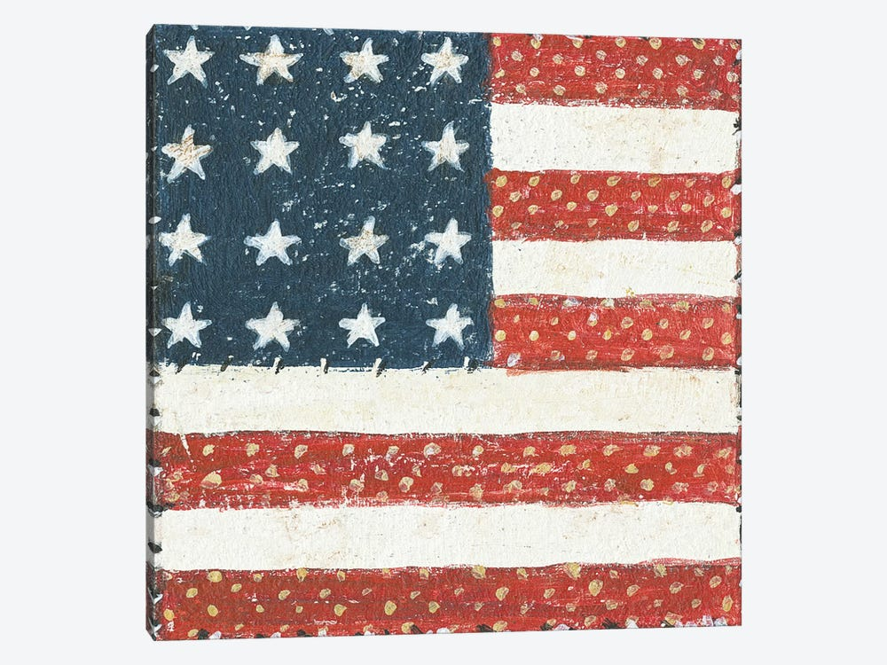 Americana Quilt IV by David Carter Brown 1-piece Art Print
