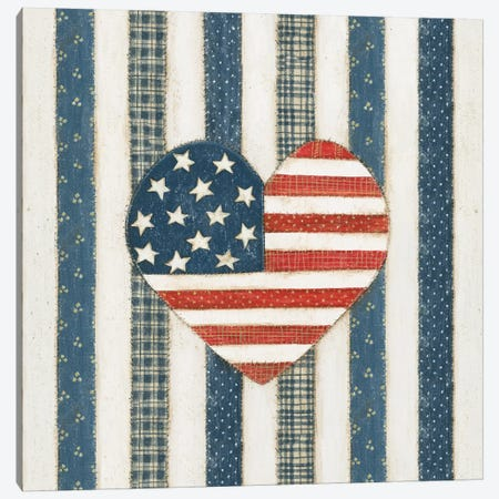 Americana Quilt VI Canvas Print #WAC5596} by David Carter Brown Canvas Print
