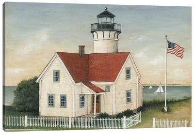 Lighthouse Keeper's House Canvas Art Print