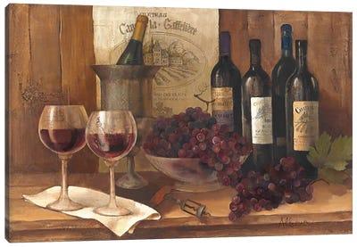 Vintage Wine Canvas Art Print
