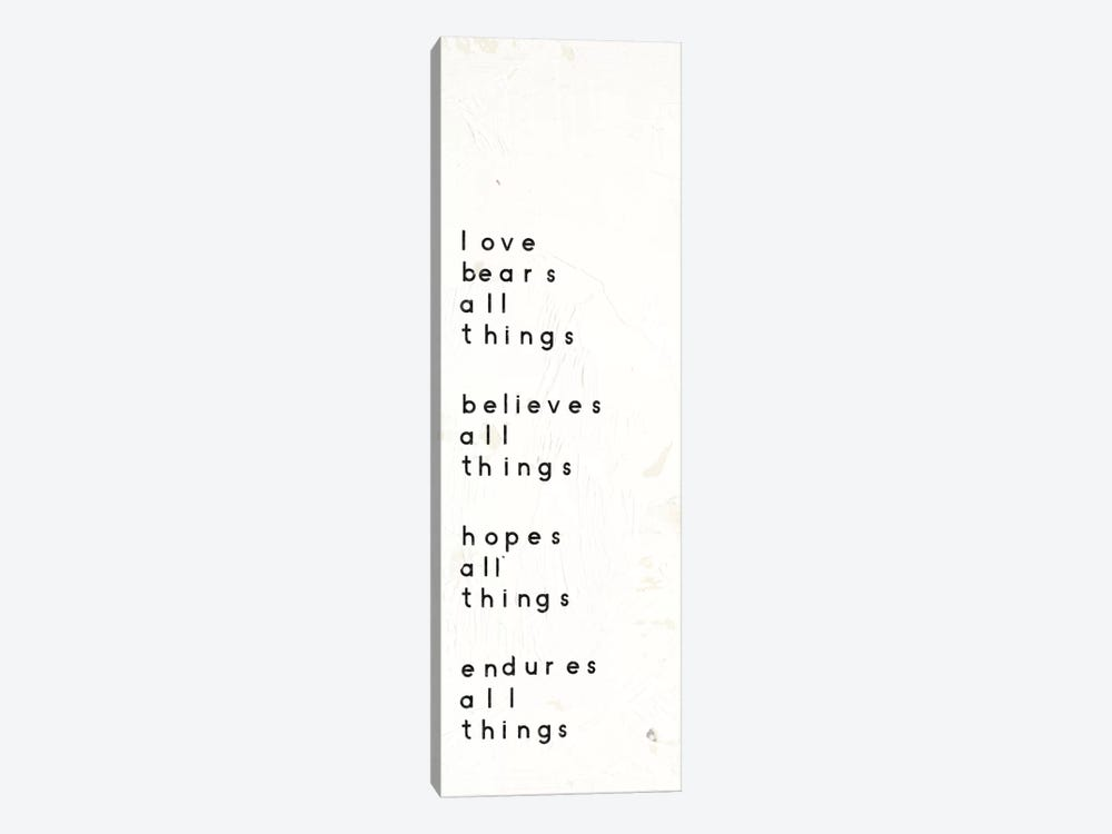 Words Of Encouragement I by Emily Adams 1-piece Canvas Art