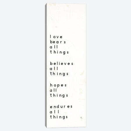 Words Of Encouragement I Canvas Print #WAC5606} by Emily Adams Canvas Art Print