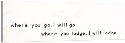 Words Of Encouragement III Canvas Print #WAC5608