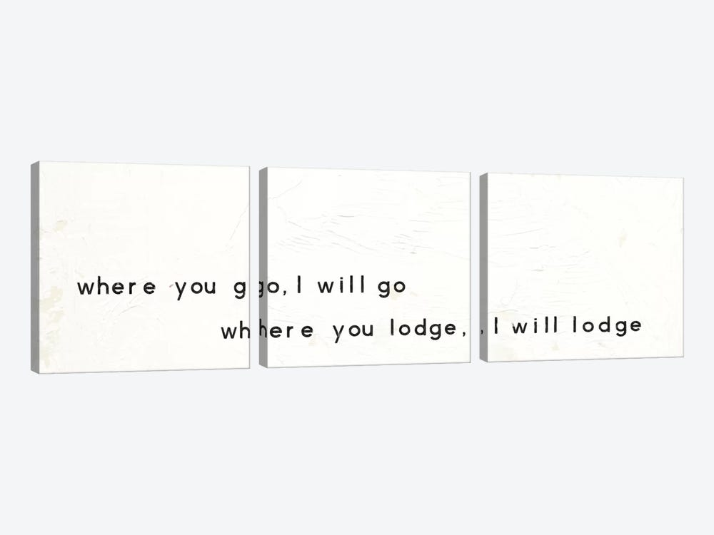 Words Of Encouragement III by Emily Adams 3-piece Canvas Art