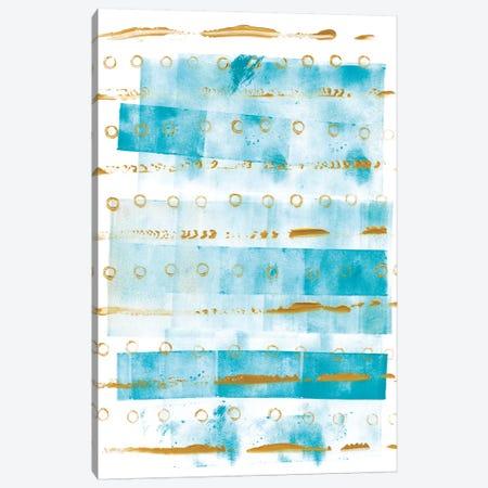 Ocean Blue I Canvas Print #WAC5618} by Wild Apple Portfolio Canvas Art Print