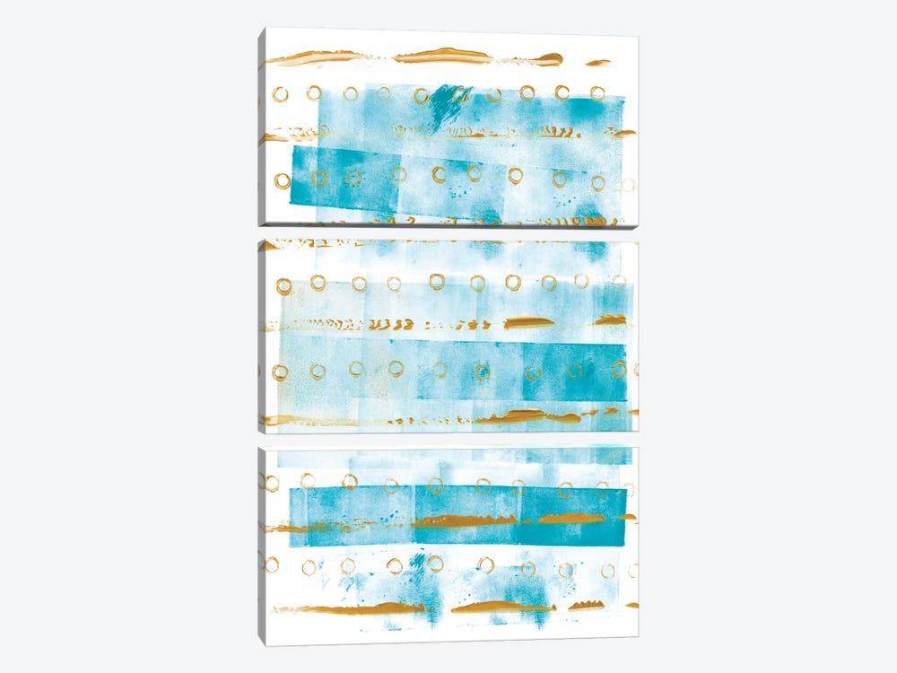 Ocean Blue I by Wild Apple Portfolio 3-piece Art Print