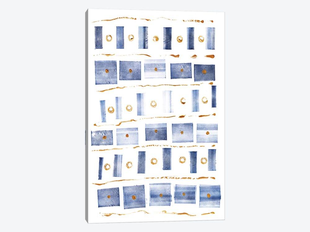 Ocean Blue III by Wild Apple Portfolio 1-piece Canvas Artwork