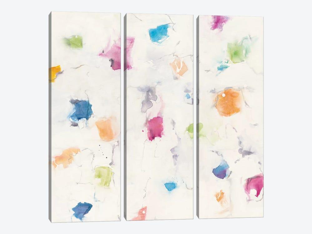 Glitterati I by Mike Schick 3-piece Canvas Art Print