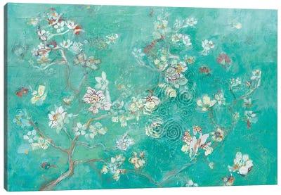 Buttery Blossom Flowers Canvas Art Print