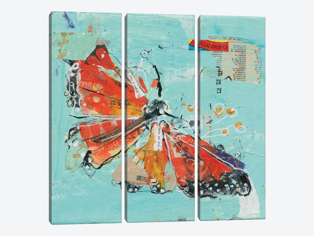 Monarch I by Kellie Day 3-piece Art Print