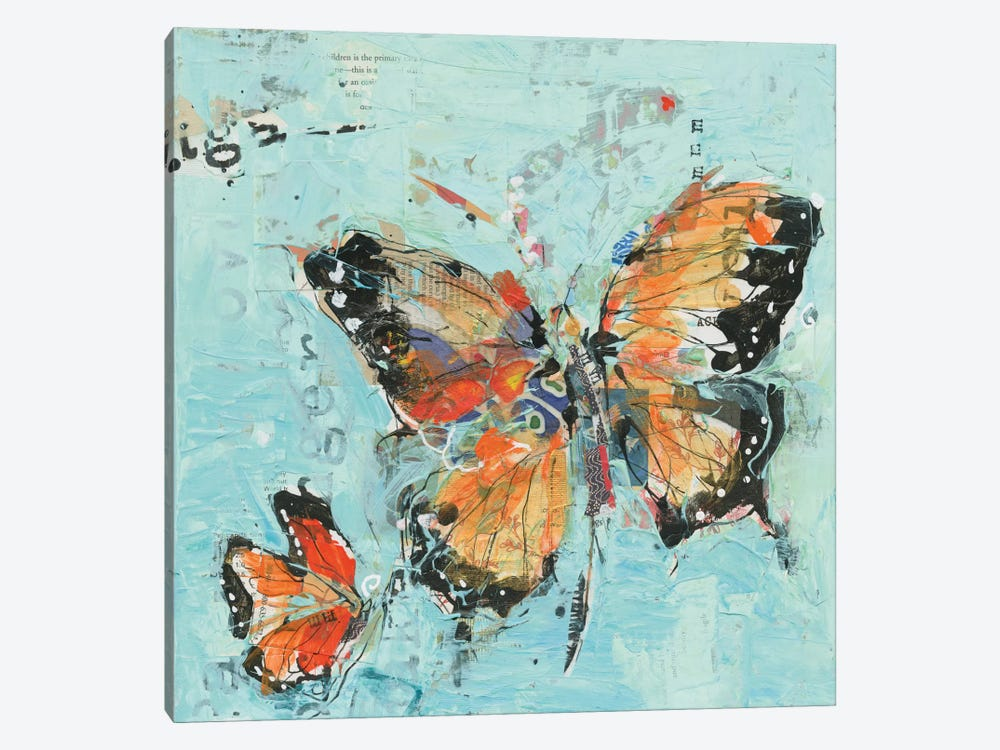 Monarch II by Kellie Day 1-piece Canvas Wall Art
