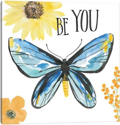Beautiful Butterfly III Canvas Art Print