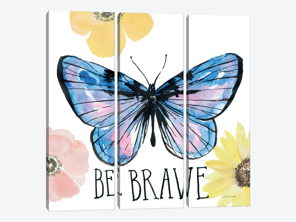 Beautiful Butterfly IV by Sara Zieve Miller 3-piece Canvas Art