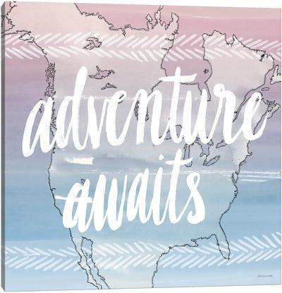 World Traveler Series: Adventure Awaits Canvas Print #WAC5661