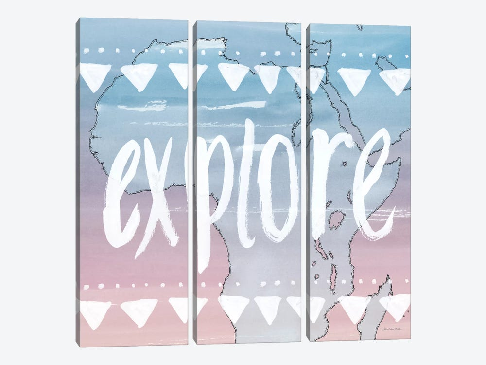Explore by Sara Zieve Miller 3-piece Canvas Art