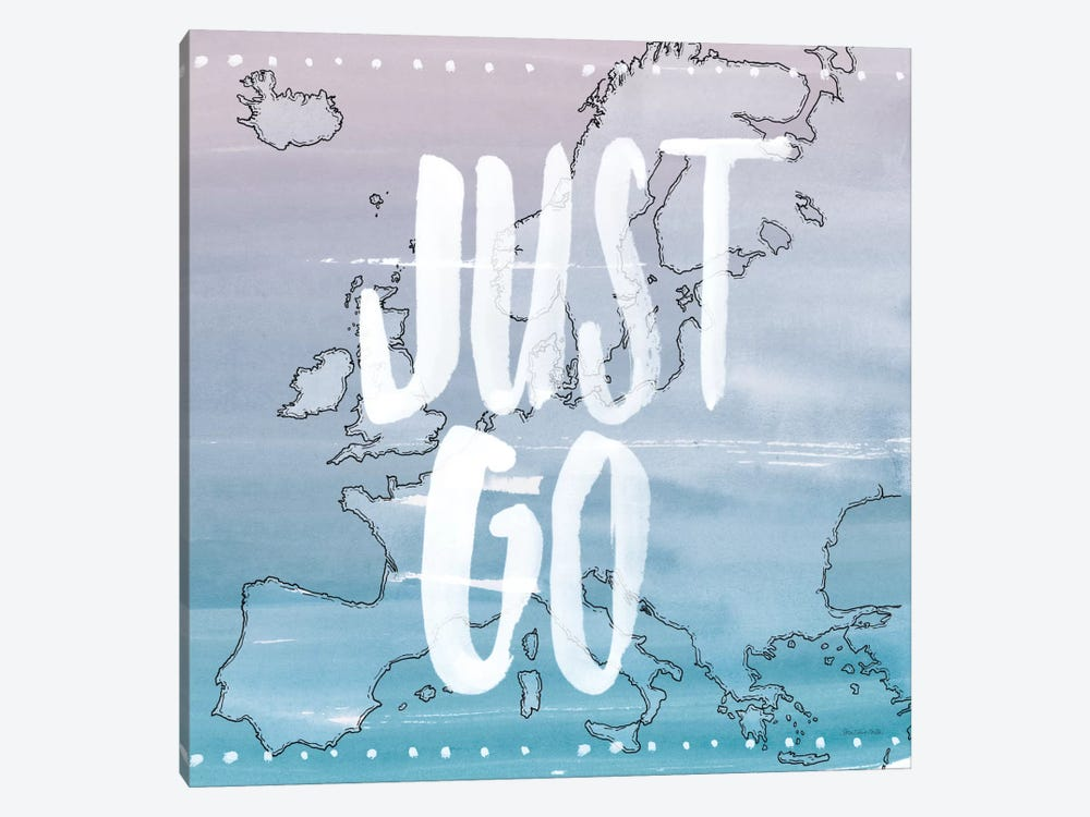Just Go 1-piece Canvas Print