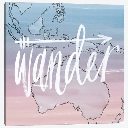 Wander Canvas Print #WAC5664} by Sara Zieve Miller Canvas Art Print