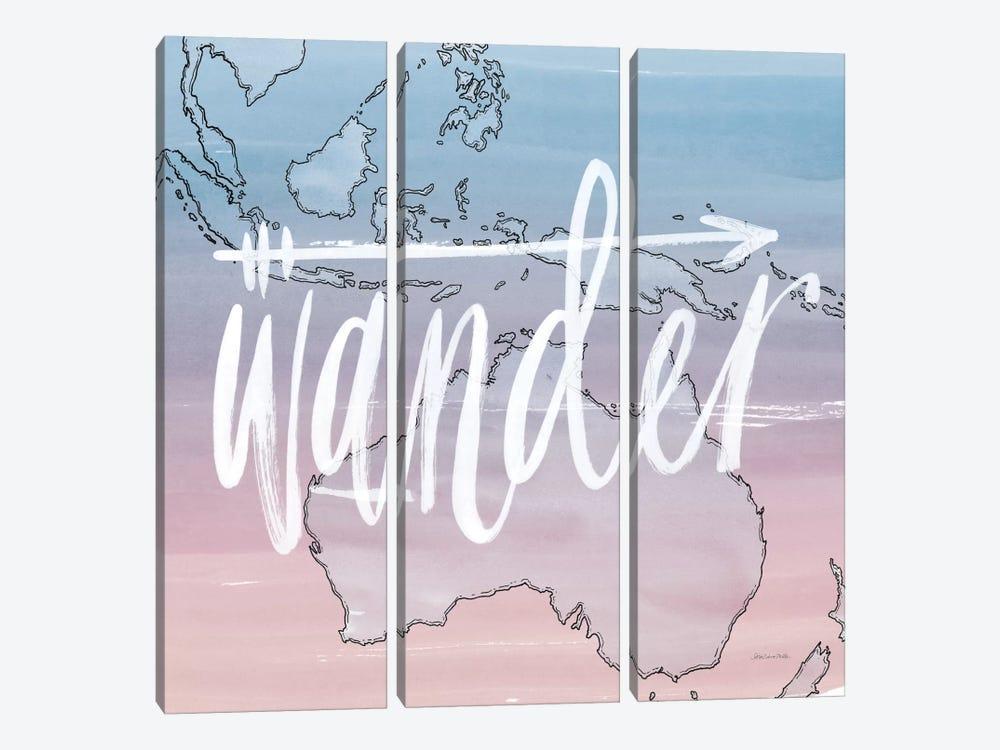 Wander by Sara Zieve Miller 3-piece Canvas Artwork