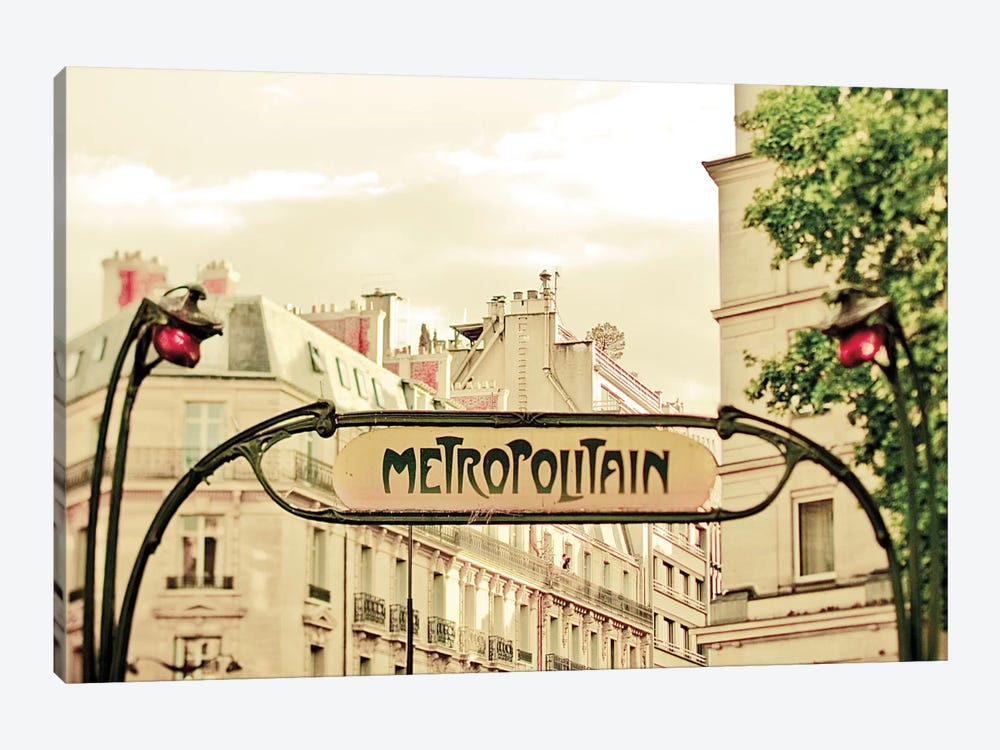 A Lily In Paris by Keri Bevan 1-piece Canvas Print