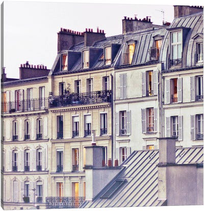 Bon Nuit Paris Canvas Art Print