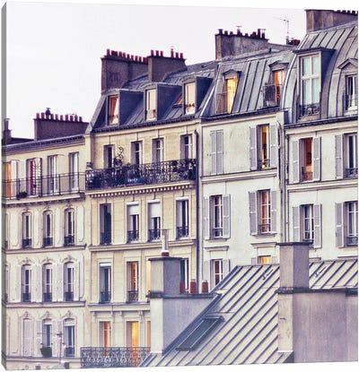 Bon Nuit Paris Canvas Art Print