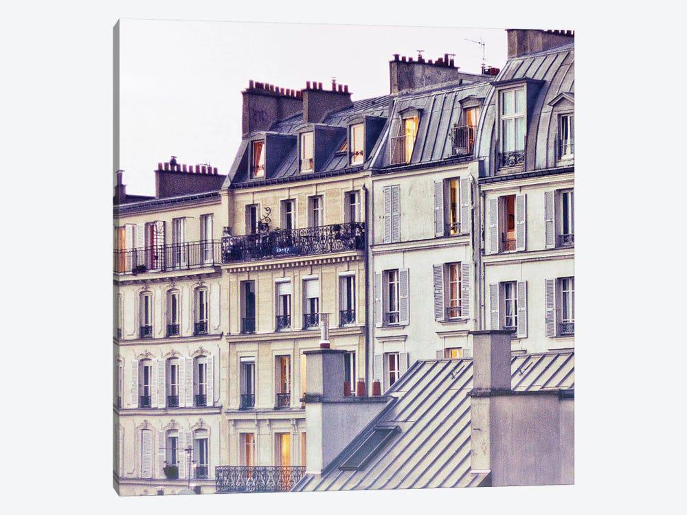 Bon Nuit Paris by Keri Bevan 1-piece Canvas Wall Art