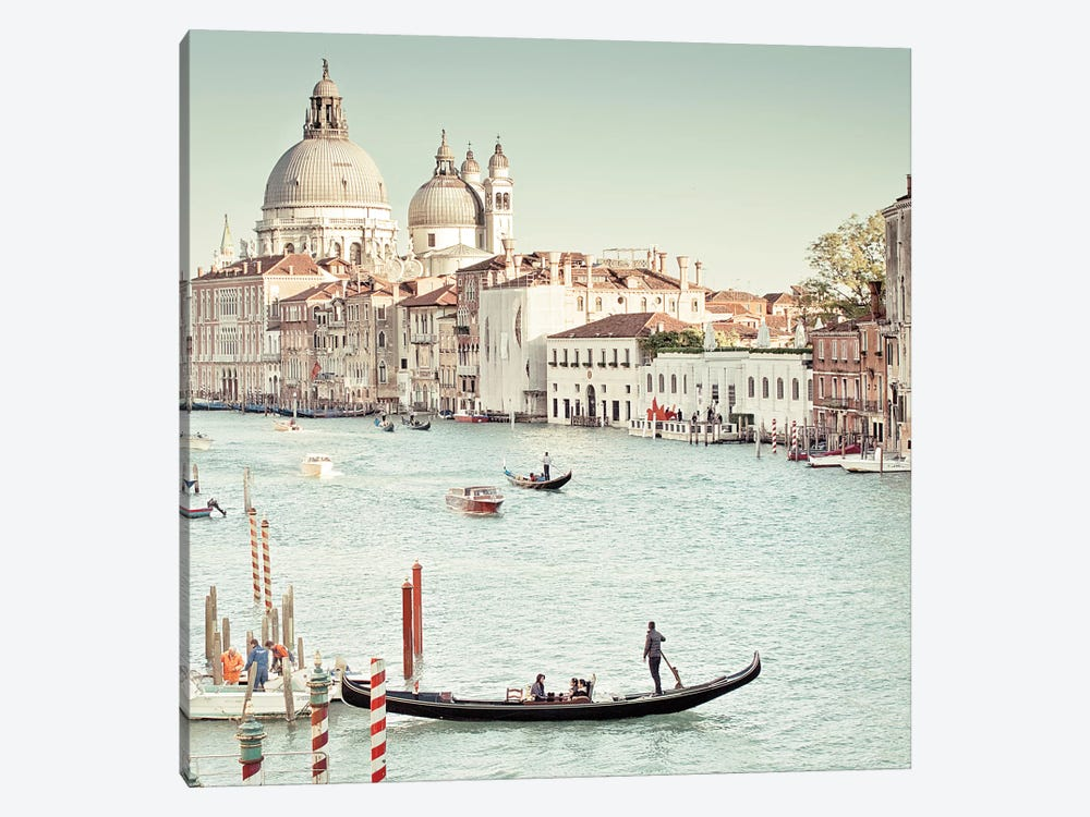 Grand Canal by Keri Bevan 1-piece Canvas Artwork