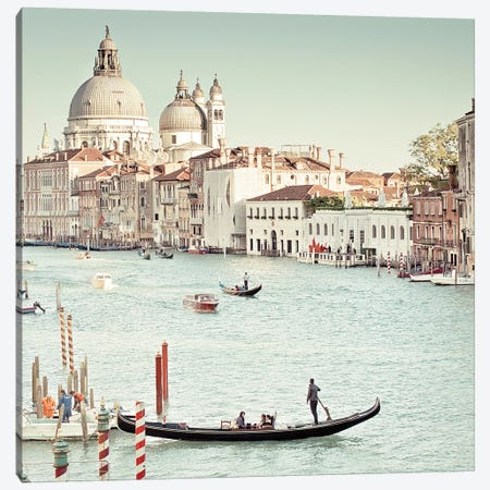 Grand Canal Canvas Print #WAC5671} by Keri Bevan Canvas Print
