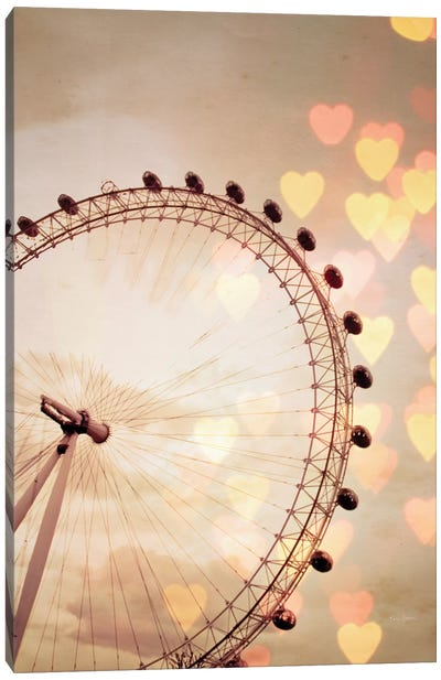 In Love With London Canvas Art Print
