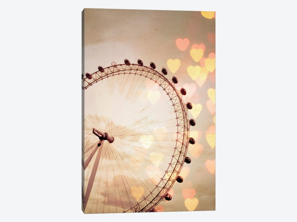 In Love With London by Keri Bevan 1-piece Canvas Art Print