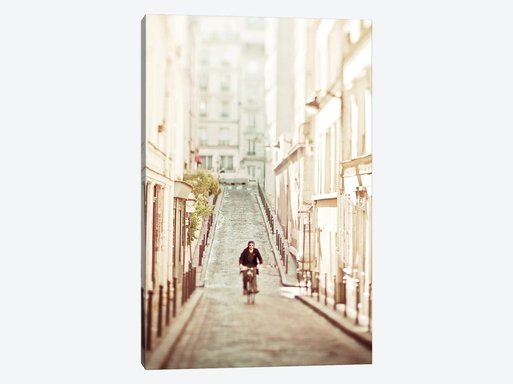 The Bicycle Thief by Keri Bevan 1-piece Canvas Artwork