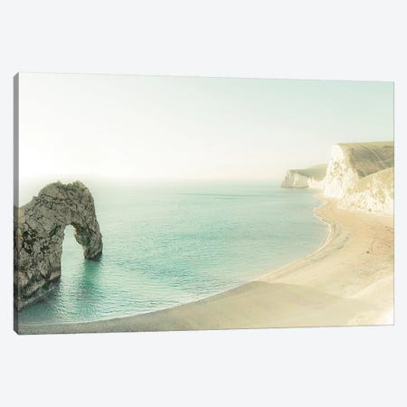 The Jurassic Coast Canvas Print #WAC5682} by Keri Bevan Canvas Wall Art