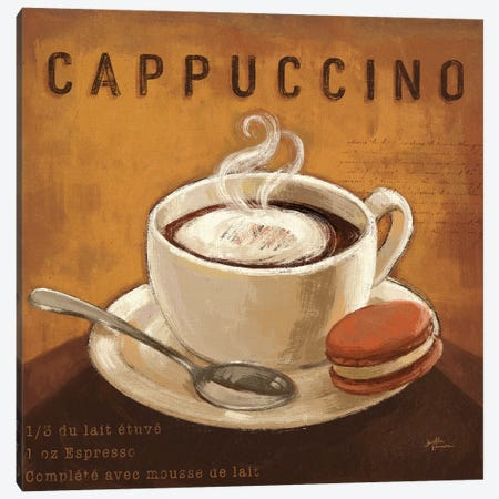 Coffee And Co. I Canvas Print #WAC5686} by Janelle Penner Canvas Art Print