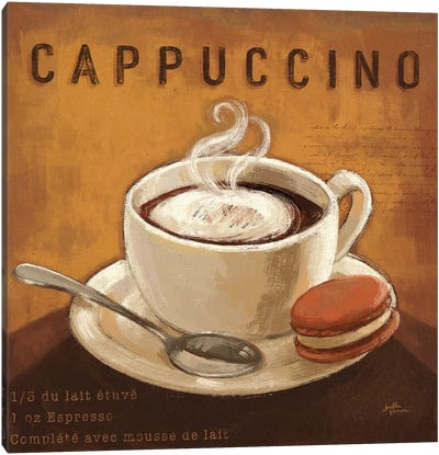 Coffee And Co. I Canvas Art Print