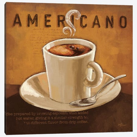 Coffee And Co. II Canvas Print #WAC5687} by Janelle Penner Canvas Art Print