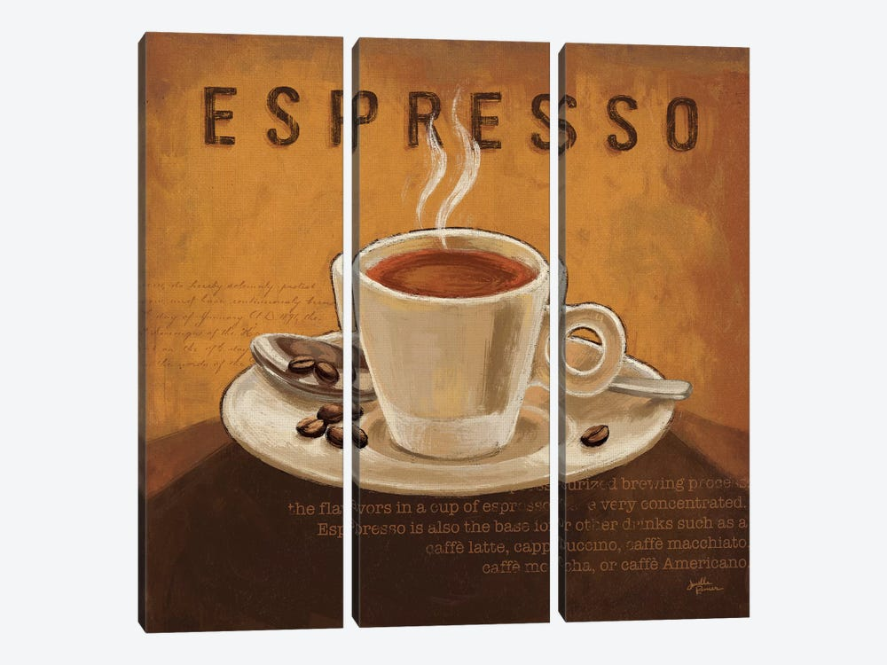 Coffee And Co. III by Janelle Penner 3-piece Canvas Artwork