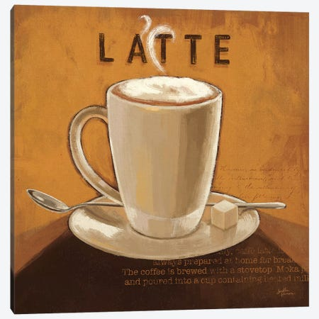 Coffee And Co. IV Canvas Print #WAC5689} by Janelle Penner Canvas Wall Art