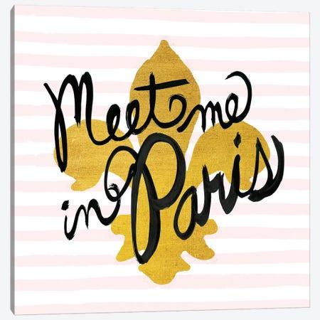 Meet Me In Paris II Canvas Print #WAC5691} by Studio Bella Art Print