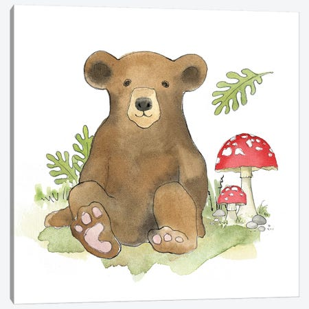 Woodland Baby II Canvas Print #WAC5693} by Beth Grove Art Print
