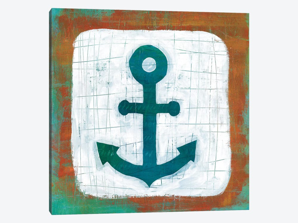 Ahoy III by Melissa Averinos 1-piece Canvas Artwork