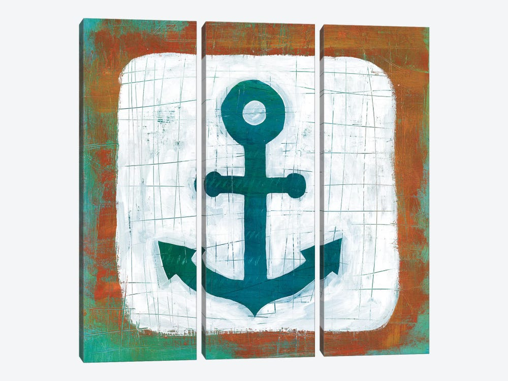Ahoy III by Melissa Averinos 3-piece Canvas Artwork