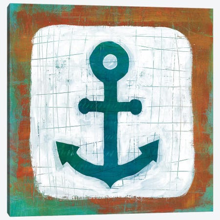 Ahoy III 3-Piece Canvas #WAC5697} by Melissa Averinos Canvas Artwork