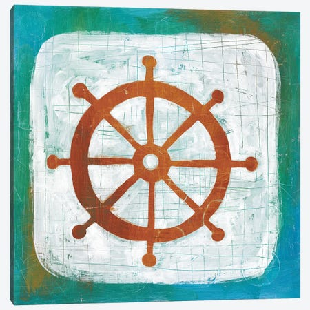 Ahoy IV Canvas Print #WAC5698} by Melissa Averinos Canvas Print